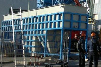 Fabricación y Montaje estructura planta Tratamiento Agua y Tanque de Sosa en Central Térmica Endesa Litoral