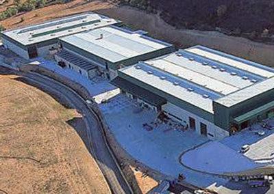 Fabricación y Suministro de Estructura, Cintas Transportadora y Calderería para Planta de Tratamiento de Residuos en Liria
