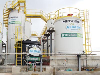 Fabricación y Montaje de 15 Depósitos de Almacenamiento en Planta Producción de BIODIESEL en Níjar