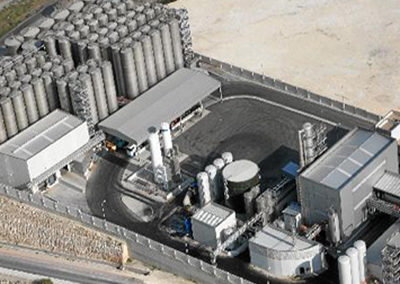 Fabricación y Montaje de 11 Tanques en Planta Producción de Biodiesel, Carboneras