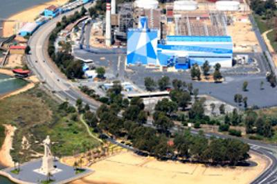 Fabricación de Estructura para Caldera en Central de Ciclo Combinado Colón en Huelva