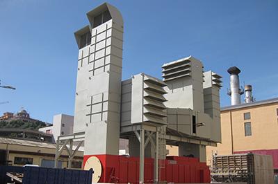 Montaje de Turbina Diésel y fabricación y Montaje de de Depósitos y Chimenea en Central Diésel Endesa Ceuta