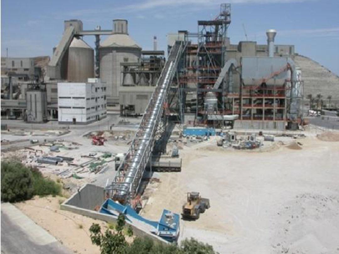 Fabricación y Montaje Estructura Nueva línea de Molienda en Holcim Carboneras